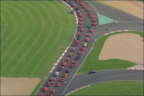 Фелипе Масса возглавит парад машин Ferrari в Сильверстоуне