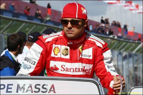 Фелипе Масса на Гран При Австралии
