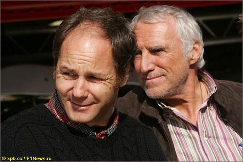 Совладельцы Toro Rosso Герхард Бергер и Дитрих Матешиц (справа)