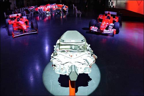 Силовая установка Ferrari