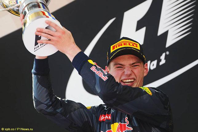 Макс Ферстаппен, победитель Гран При Испании 2016 года