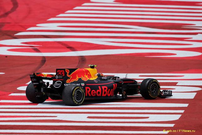 Гран При Испании. Сход Макса Ферстаппена