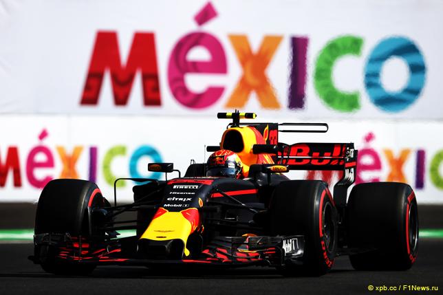 Гран При Мексики. Макс Ферстаппен