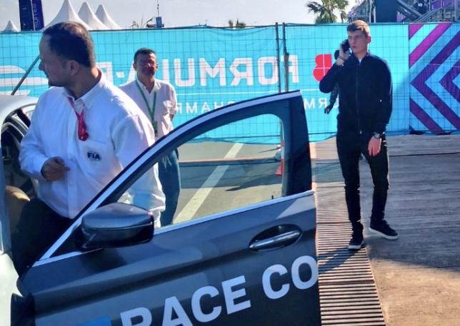 Макс Ферстаппен на этапе Формулы E в Марракеше