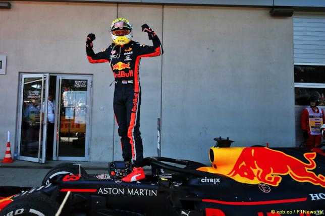 Гран При Австрии. Макс Ферстаппен