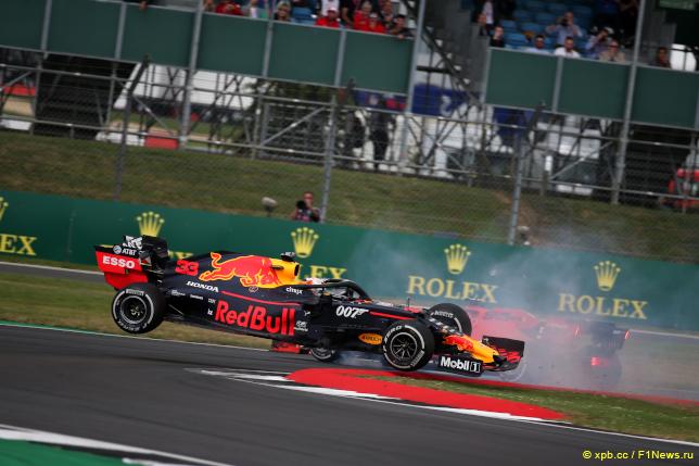 Гран При Великобритании. Инцидент между Максом Ферстаппеном и Себастьяном Феттелем