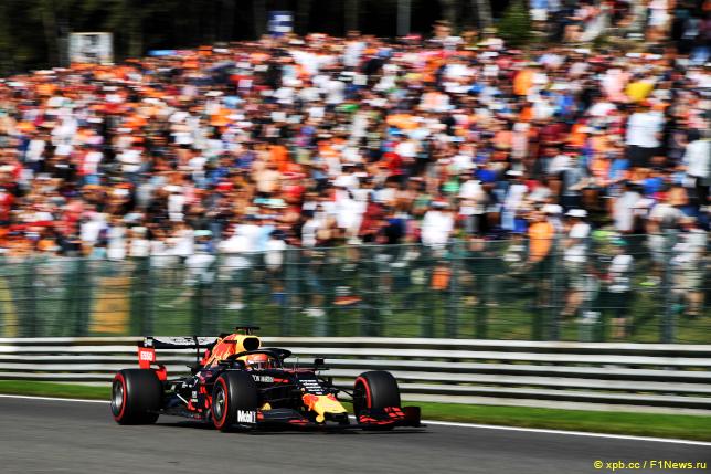 Гран При Бельгии. Макс Ферстаппен
