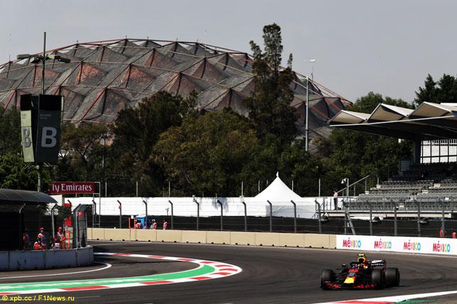 Макс Ферстаппен на прошлогоднем Гран При Мексики