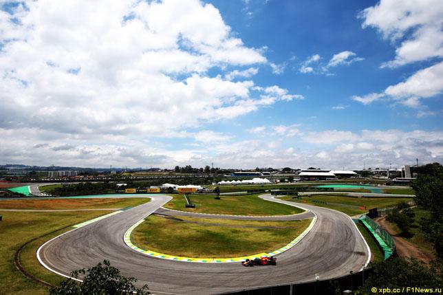 Макс Ферстаппен в Гран При Бразилии, 2018 год