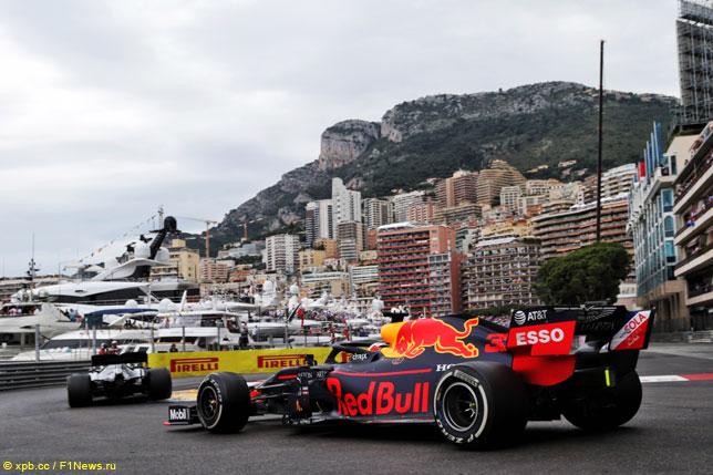 Макс Ферстаппен в Гран При Монако