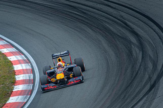 Макс Ферстаппен на трассе Зандфорт. Фото: Red Bull Content Pool