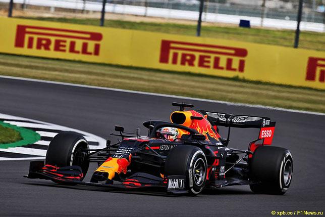 Макс Ферстаппен на дистанции Гран При Великобритании