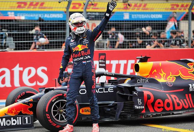 Макс Ферстаппен –победитель Гран При Франции