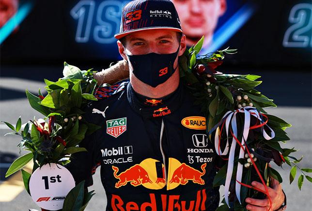 Макс Ферстаппен –победитель первого спринта в истории Формулы 1, фото пресс-службы Red Bull Racing