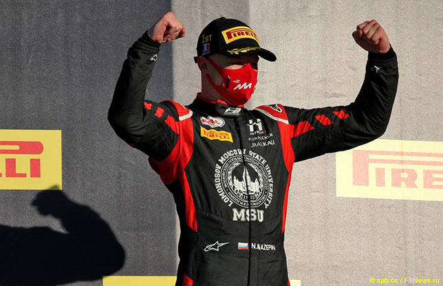 Формула 2: Мазепин выиграл гонку, Шварцман сошёл