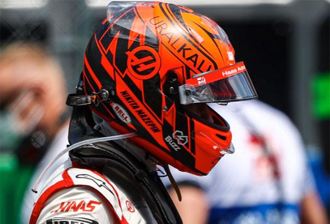 Никита Мазепин, фото пресс-службы Haas F1