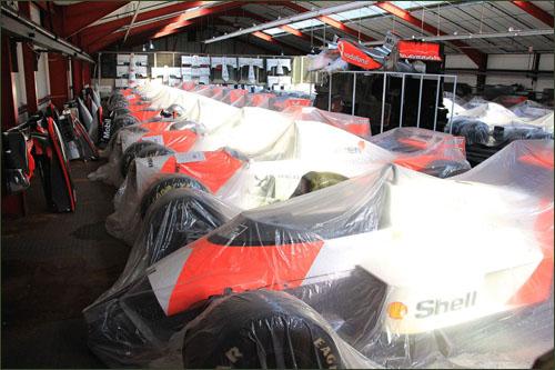 Исторические машины McLaren