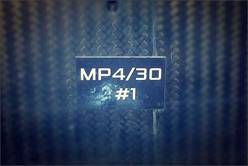 Первое изображение одногой из деталей MP4-30