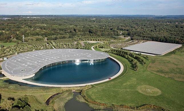 Штаб-квартира McLaren в Уокинге