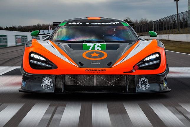 В McLaren получили статус производителя в серии IMSA