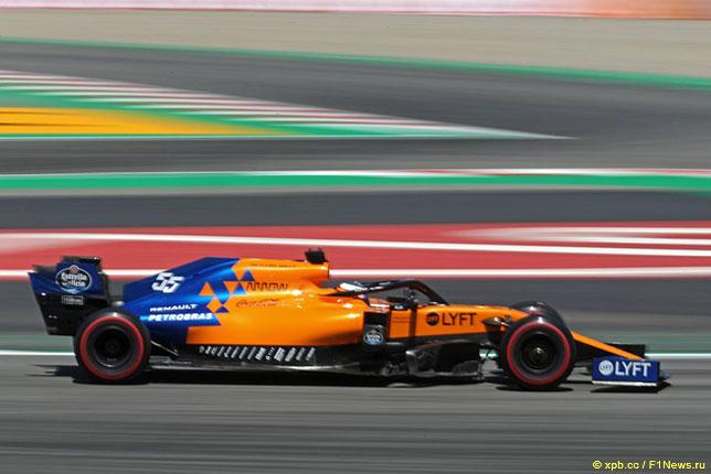 Логотипы Petrobras хорошо видны на машинах McLaren в 2019 году