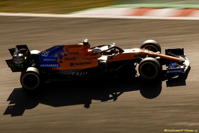В Японии логотипы Petrobras на машинах McLaren ещё были