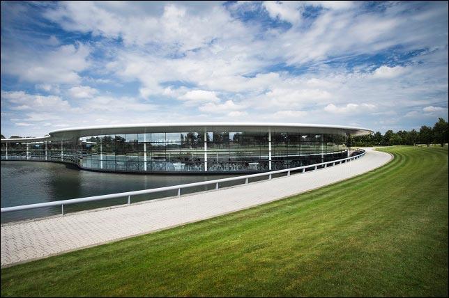 База McLaren в Уокинге. Фото пресс-службы McLaren
