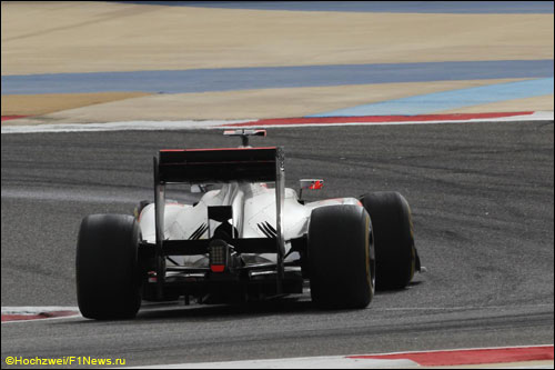 Дженсону Баттону не удалось финишировать в Бахрейне - не хватило всего пары кругов