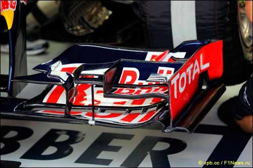 Переднее антикрыло Red Bull Racing