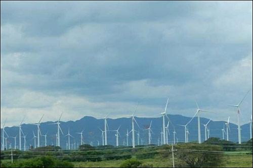 Ветрогенераторы в мексиканском штате Оахака