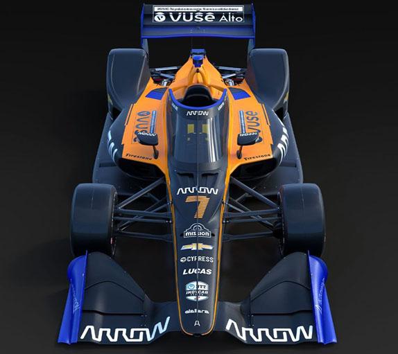 В McLaren представили машину IndyCar