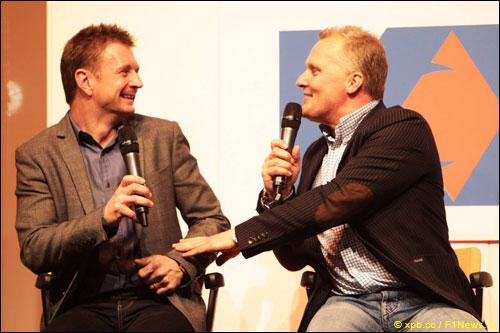 Алан Макниш и Джонни Херберт на Autosport International Show (2012 год)