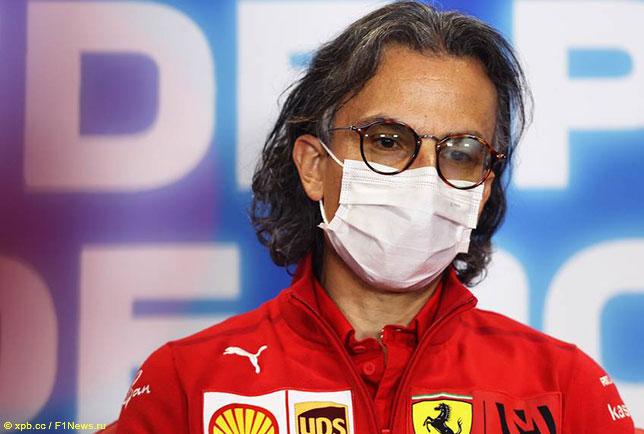 Лоран Мекис, спортивный директор команды Ferrari