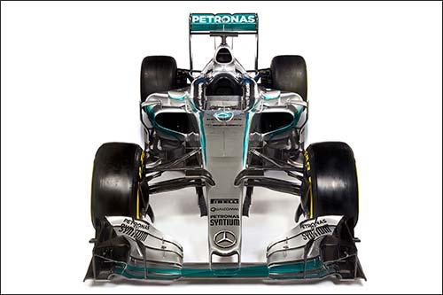 Mercedes F1 Wo6 Hybrid