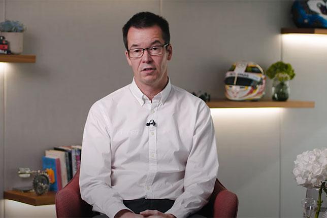Майк Эллиот, технический директор базы Mercedes в Брэкли