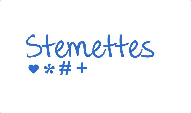 Логотип программы Stemmettes
