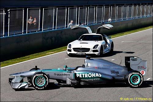 Презентация Mercedes W04