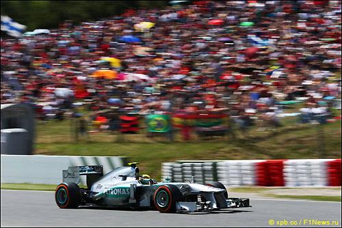 В распоряжении Mercedes была информация, полученная за три дня испанского уик-энда
