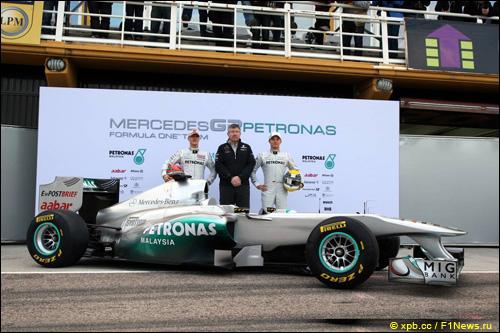 Презентация Mercedes W02