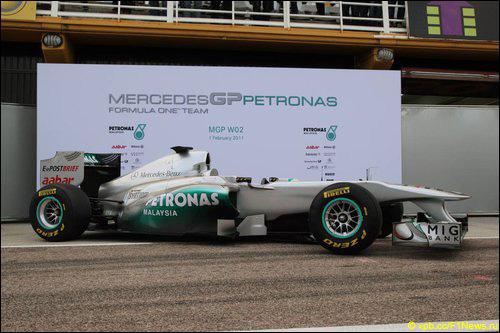 Презентация Mercedes MGP W02