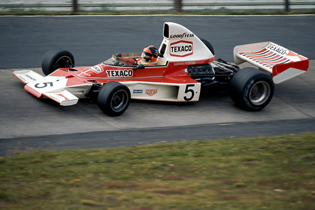 Эмерсон Фиттипальди за рулём McLaren M23
