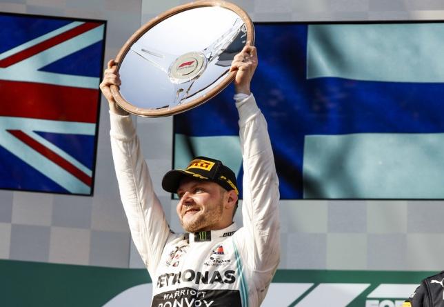 Валттери Боттас - победитель Гран При Австралии, 2019 год