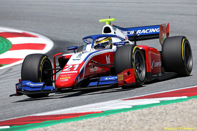 Роберт Шварцман, лидер личного зачёта Формулы 2