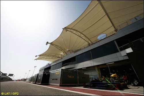 Второй этап GP2 Asia пришлось отменить, когда команды уже съехались в Бахрейн...