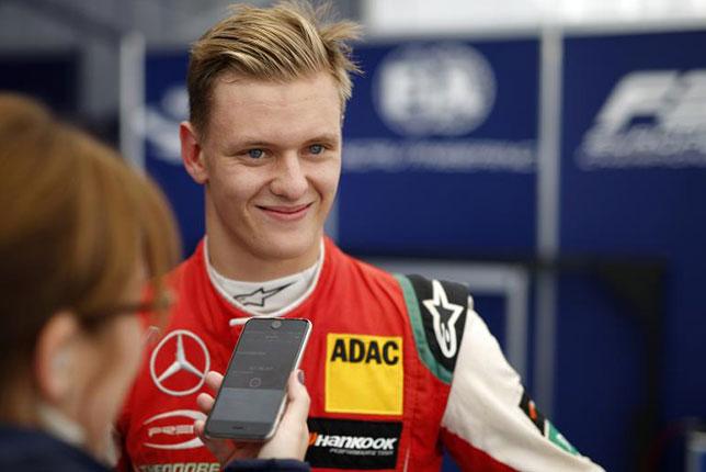 Ф3: Мик Шумахер выиграл субботнюю квалификацию
