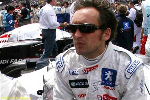 Франк Монтаньи перед стартом гонки в Ле-Мане
