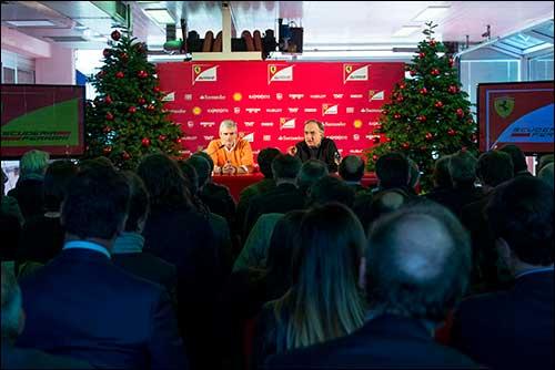 Пресс-конференция Ferrari