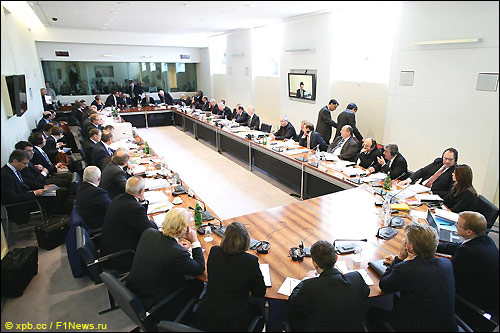Заседание Всемирного Совета
