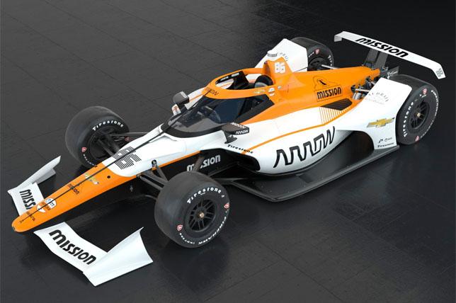 Arrow McLaren SP Хуана-Пабло Монтойи