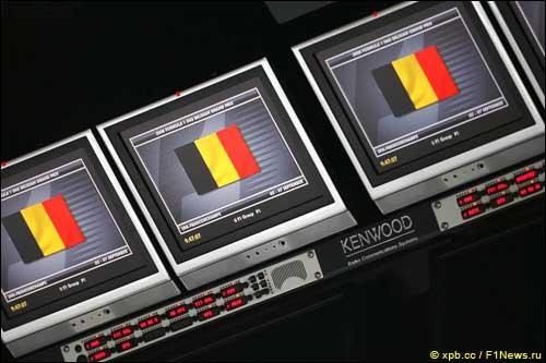 Информационные экраны на командном мостике